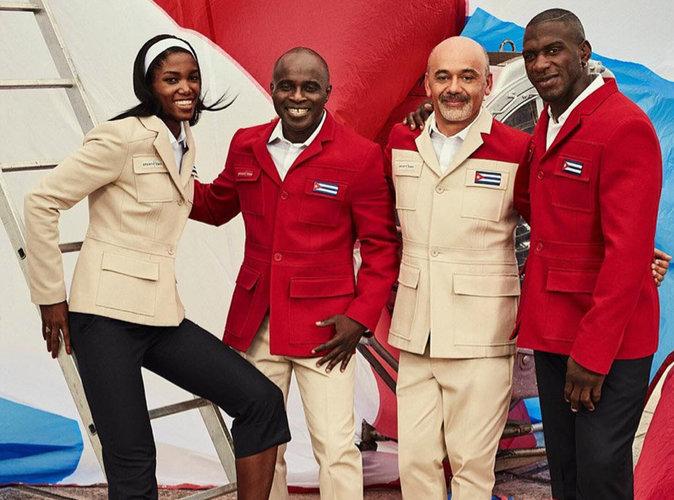 JO 2016 : Christian Louboutin signe les tenues des athlètes cubains !