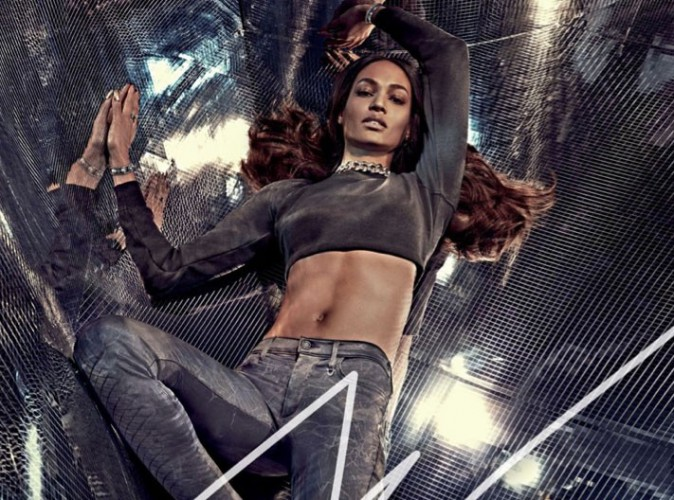 Mode : Joan Smalls : sexy en denim pour True Religion