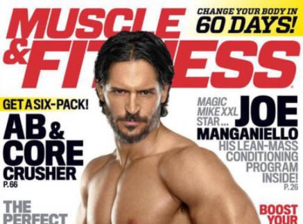 Joe Manganiello : le chéri de Sophia Vergara, ultra hot en couverture de Muscles & Fitness !