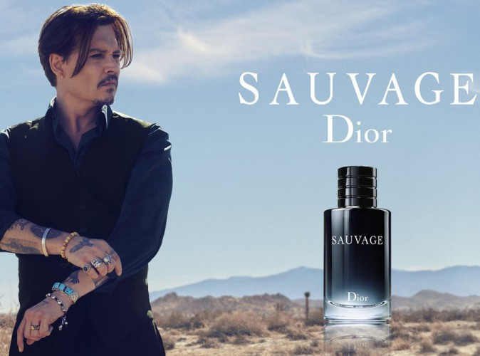 Johnny Depp  : il garde ses airs de Jack Sparrow pour Dior Sauvage !