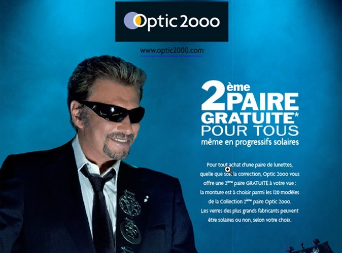 Johnny Hallyday & Optic 2000 : c'est fini !