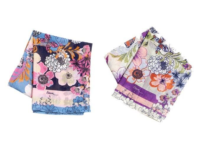 Journée de la femme 2011 : Etam lance deux foulards solidaires !