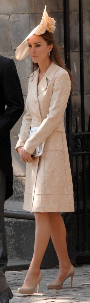 Kate Middleton au mariage de Zara Philipps et Mike Tindall !