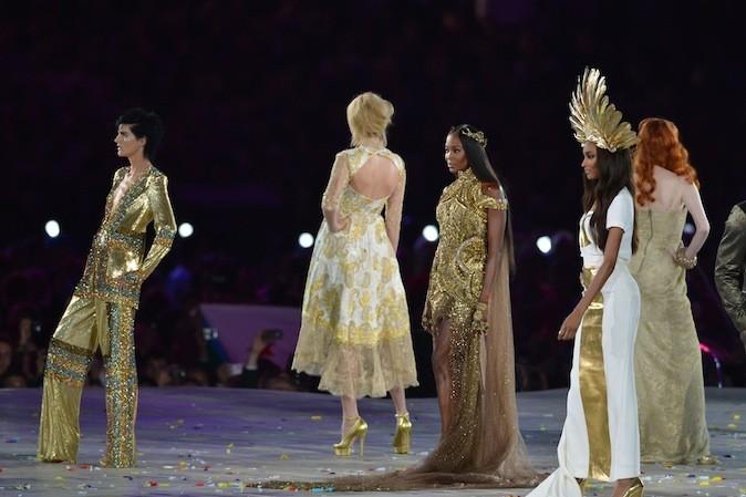 Les top modèles british font le show !