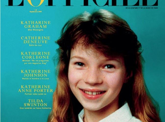 L'Officiel Espagne dévoile une photo de Kate Moss, comme vous ne l'aurez jamais vu !