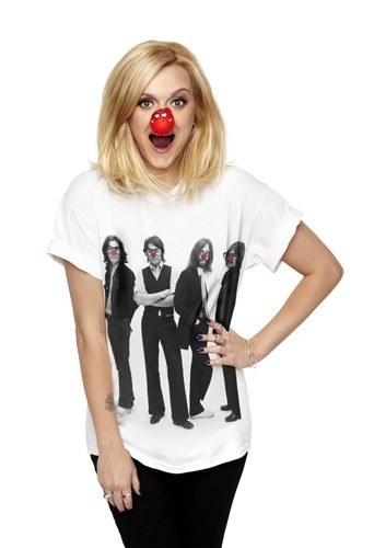 Fearne Cotton pour le Red Nose Day de Comic Relief.