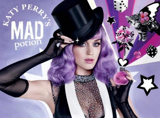 """Katy Perry : mystère, cirque et magie pour son parfum """"Mad potion"""" !"""