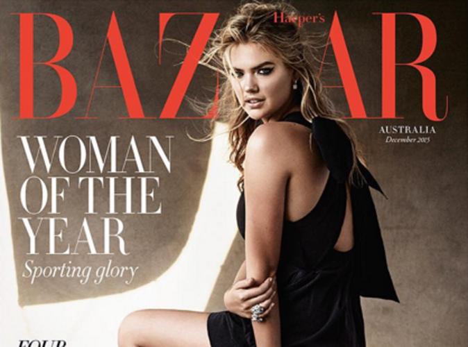 Kate Upton sacrée femme de l'année par Harper's Bazaar Australia !