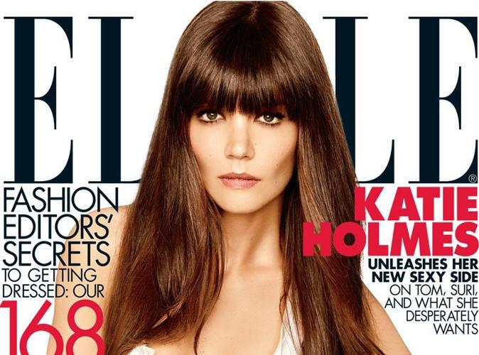 Katie Holmes : femme fatale en couv du ELLE US !