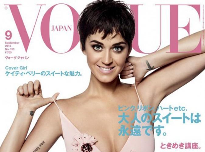 Katy Perry : coupe garçonne pour la couverture de Vogue Japon !
