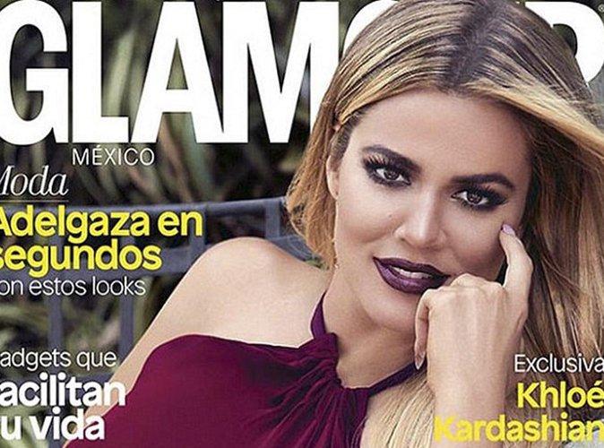 """Khloe Kardashian est rayonnante pour la couverture du magazine """"Glamour Mexique"""" !"""