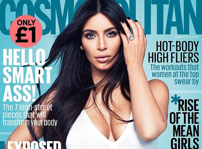 Kim Kardashian : charismatique et sexy en couverture de Cosmopolitan US !