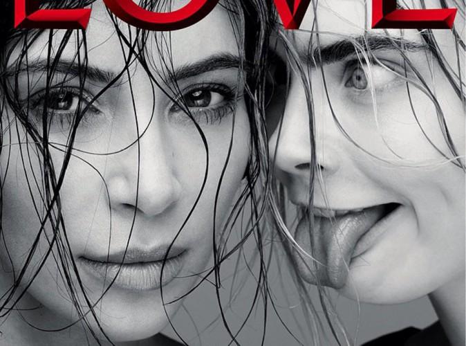 Kim Kardashian et Cara Delevingne : duo de choc et inattendu pour le magazine LOVE !
