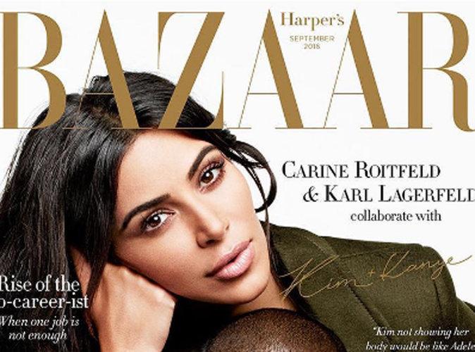 Kim Kardashian et Kanye West : puissance incarnée en couverture du Harper's Bazaar Australie