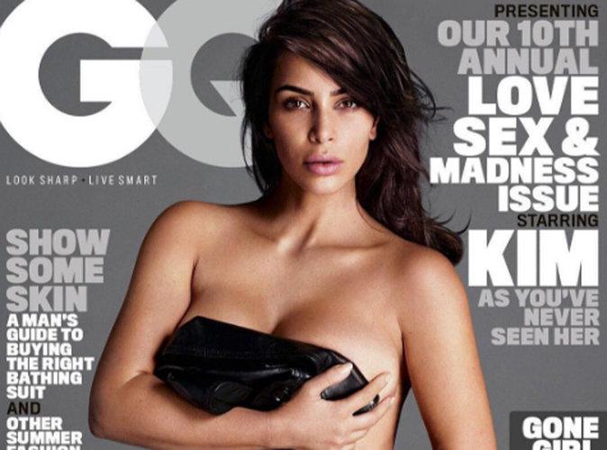 Kim Kardashian : exit les kilos, première couverture nue depuis la naissance de Saint !