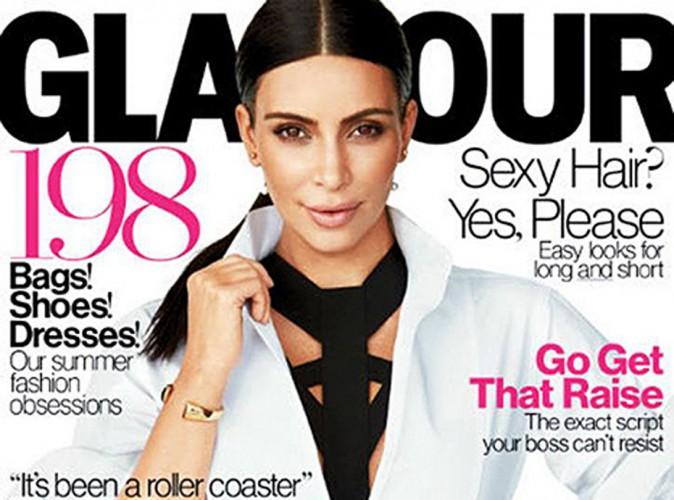 Kim Kardashian se met à nu dans le prochain Glamour US !