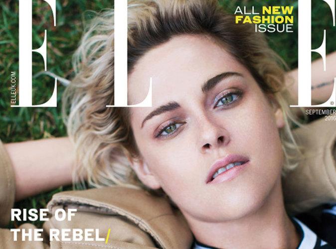 Kristen Stewart : femme épanouie et sereine en couverture du magazine Elle UK