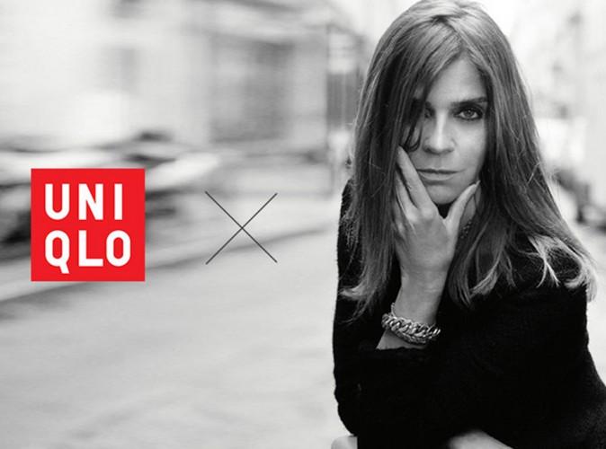 La reine de la mode, Carine Roitfeld, nouvelle designer d'Uniqlo !