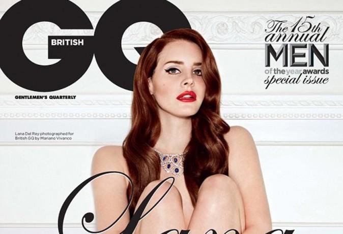 Lana Del Rey : elle se met à nue pour GQ !