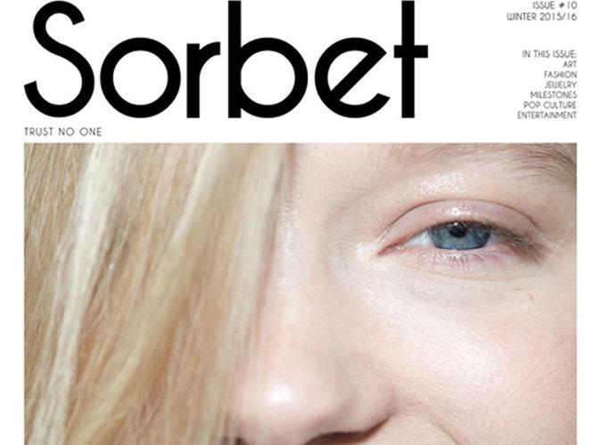 Léa Seydoux : beauté enfantine en couverture de Sorbet Magazine !