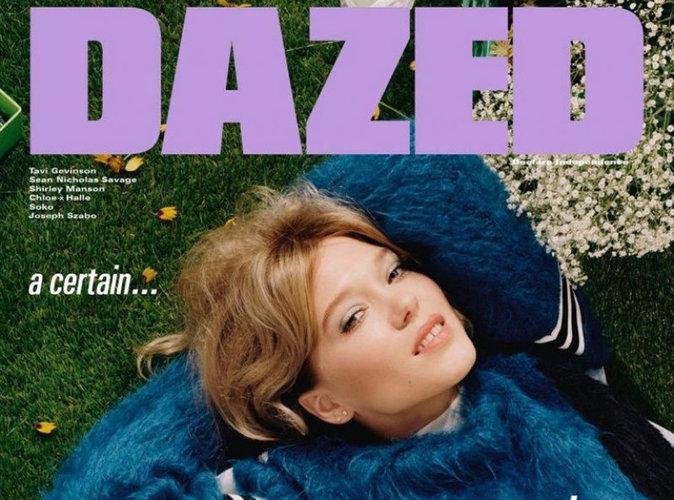 Léa Seydoux : vintage en couverture du magazine Dazed