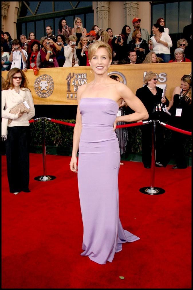 Felicity Huffman : une desperate housewife qui voit la vie en violet