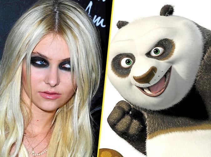 Taylor Momsen en Kung Fu Panda !