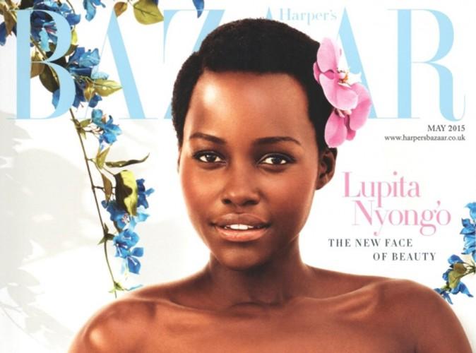"""Lupita Nyong'o, """"nouveau visage de la beauté"""" en Une du Harper's Bazaar UK !"""