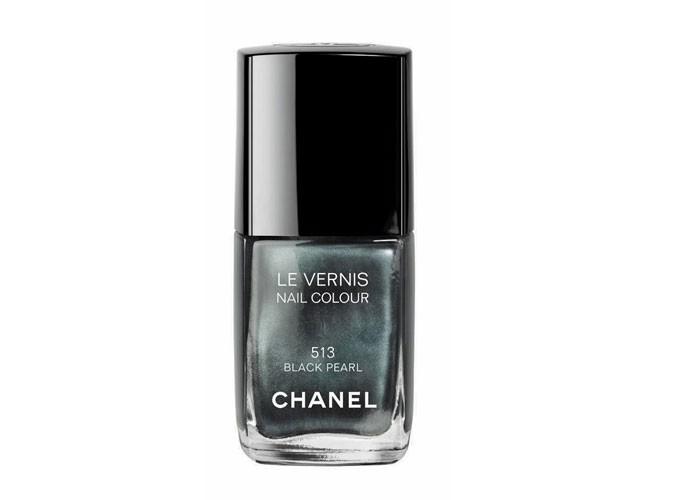 Maquillage : Black Pearl, le vernis couture de Chanel !