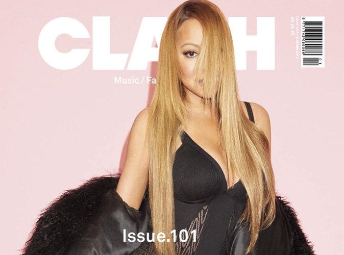 Mariah Carey sensuelle en couverture du magazine Clash
