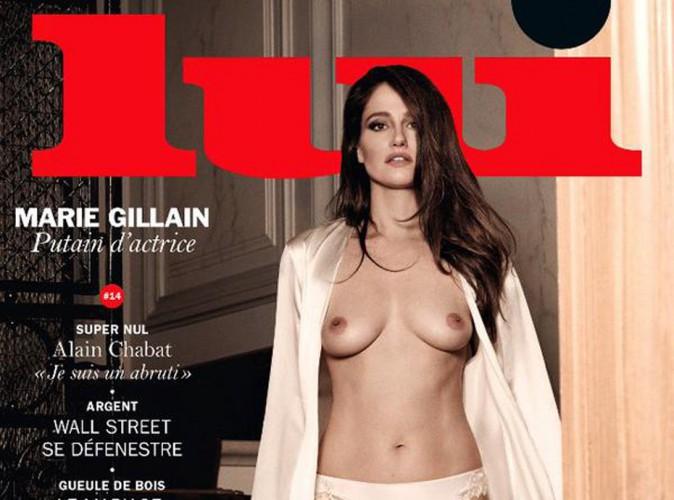 Mode : Marie Gillain : elle fait tomber le haut pour le magazine Lui !