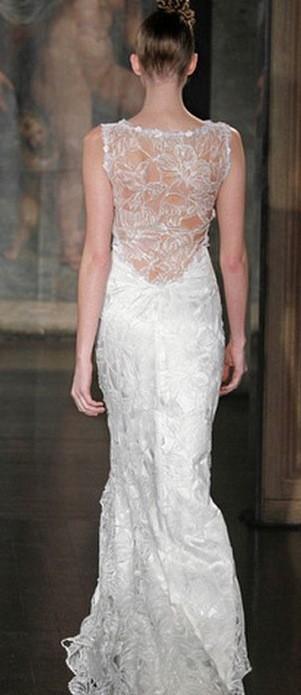 La robe de mariée de la créatrice Claire Pettibone !