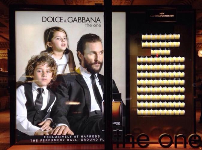 Matthew McConaughey : il prend la tête de la campagne Dolce & Gabbana !