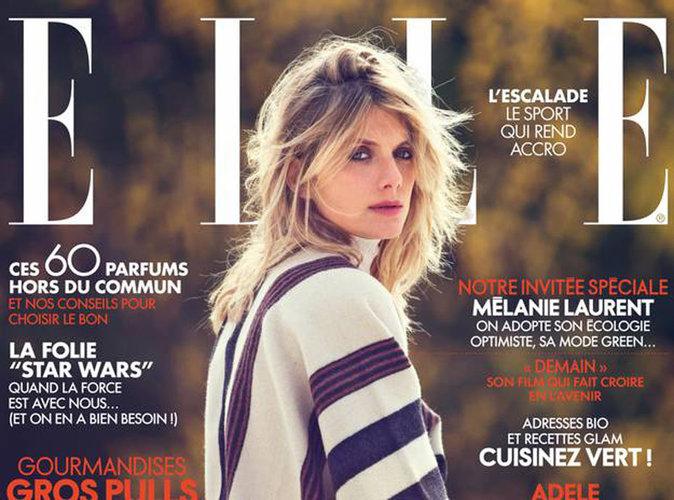 Mélanie Laurent : beauté envoûtante en une de ELLE !