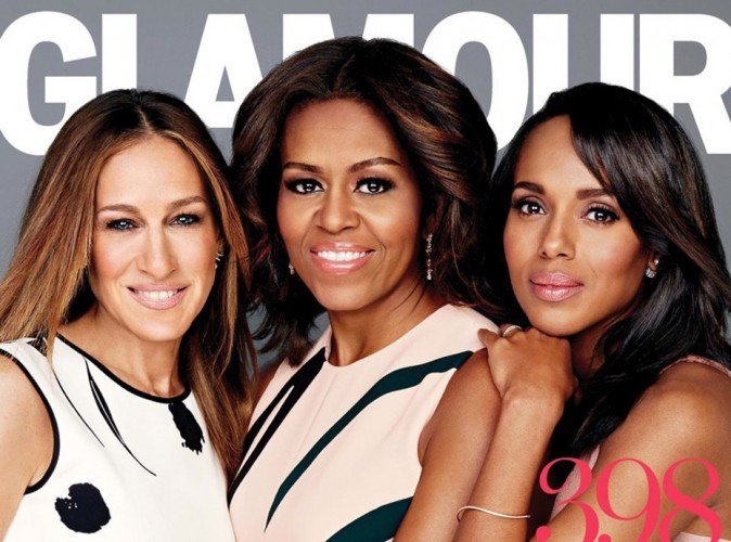 Michelle Obama, Sarah Jessica Parker et Kerry Washington : puissantes ladies en une de Glamour !