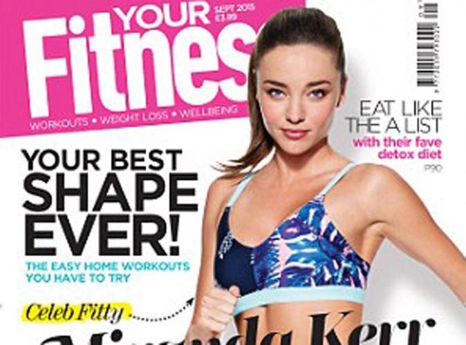 Miranda Kerr nous rélève ses secrets pour garder un corps de déesse !