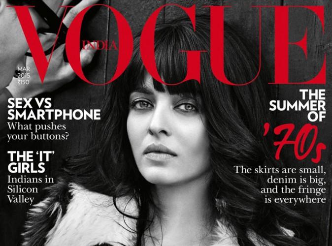 Mode : Aishwarya Rai : une covergirl sublime et très seventies pour Vogue India !