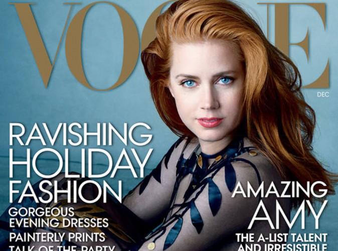 Mode : Amy Adams : découvrez sa première couverture pour Vogue !