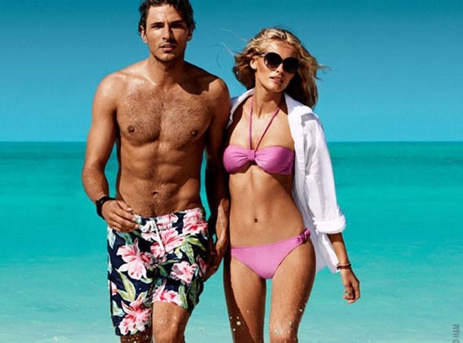 Mode : Andres Velencoso Segura so sexy en maillot dans la pub été 2011 de H&M !