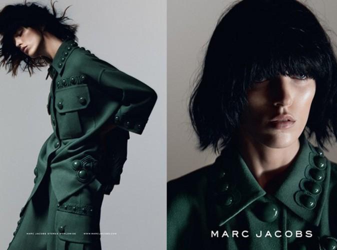 Mode : Anja Rubik : beauté rétro pour la campagne printemps-été 2015 Marc Jacobs !