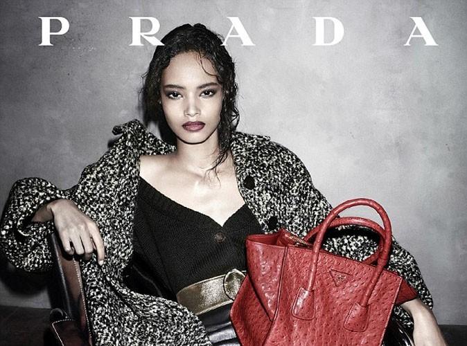 Mode : après Naomi Campbell en 1994… la maison Prada fait de nouveau appel à une beauté afro !