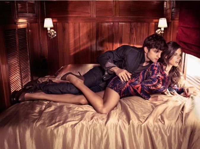 Mode : Ashton Kutcher et Alessandra Ambrosio affolants pour Colcci !