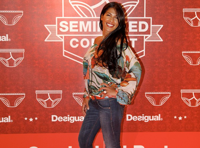 Mode : Ayem Nour : rayonnante lors du concours Seminaked de Desigual !