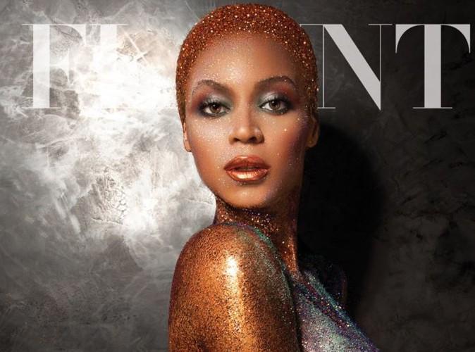 Mode : Beyoncé : tout de diamants vêtue pour la couverture du magazine Flaunt !