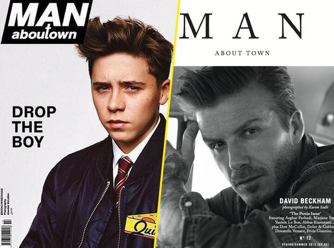 Mode : Brooklyn Beckham donne l'exclusivité de sa première couv' au magazine Man about Town !