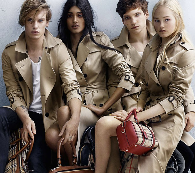 Burberry : Collection printemps-été 2014