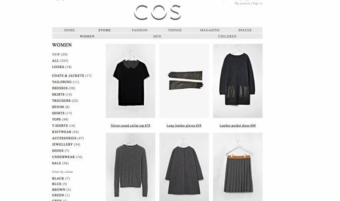 Le site de Cos