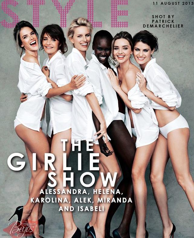 Mode : Calendrier Pirelli 2014 : shooting spécial avec Alessandra Ambrosio, Miranda Kerr et d'autres mannequins !