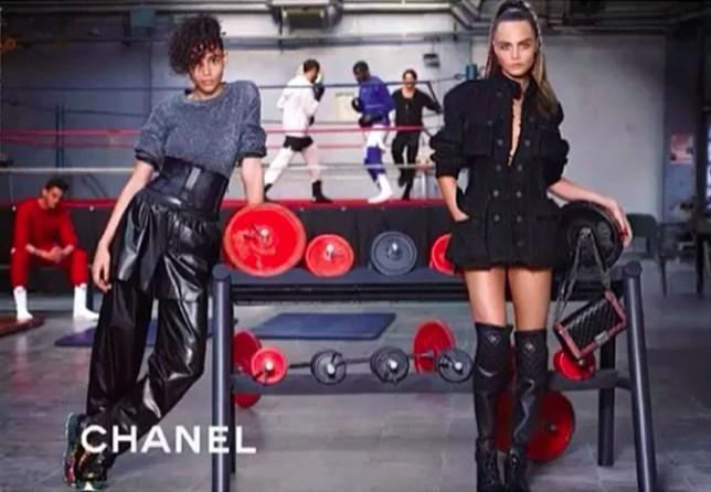 """Cara Delevingne pour la campagne Automne/Hiver 2014-2015 de Chanel intitulée """"Coach Coco"""" !"""