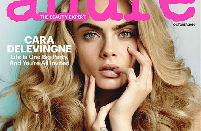 Mode : Cara Delevingne : elle pose nue pour le numéro beauté du magazine Allure !